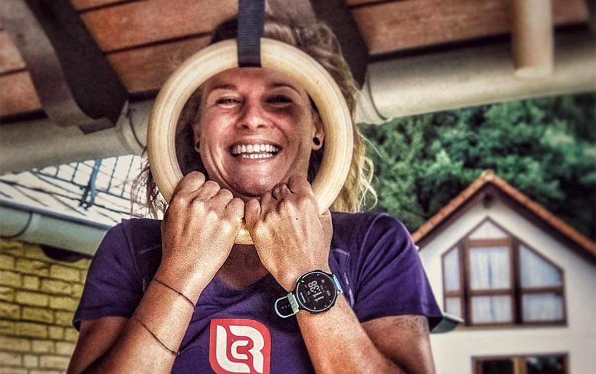 Immer ein Lächeln im Gesicht: Carina Bungard
