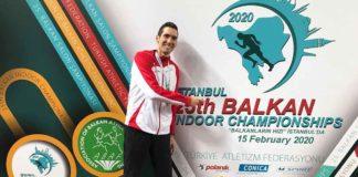 Andreas Vojta kürt sich zum Balkan Champion 2020   Foto: ÖLV