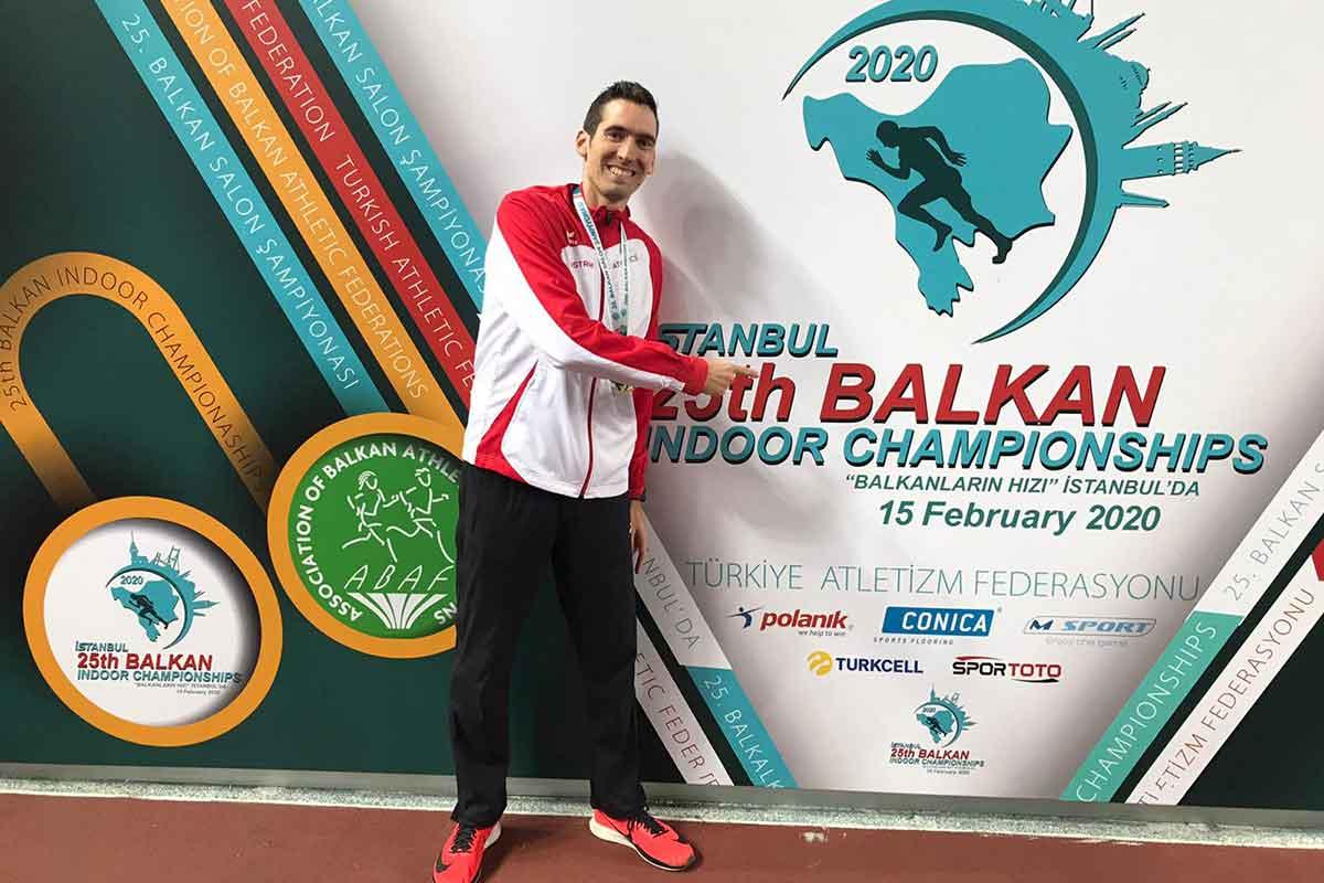 Andreas Vojta kürt sich zum Balkan Champion 2020 | Foto: ÖLV
