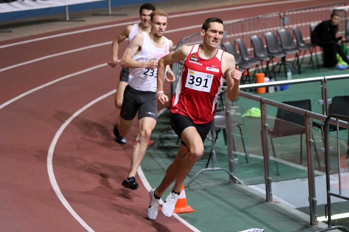 Andreas Vojta siegt beim Vienna Indoor Track & Field 2020