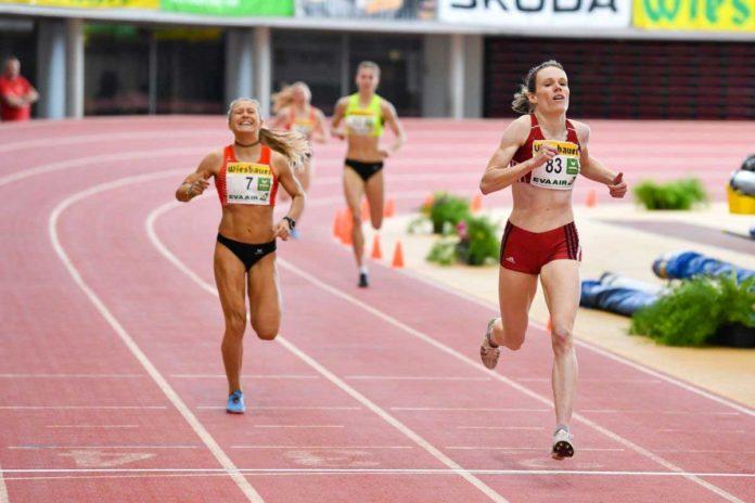Sandrina Illes holt sich über 1.500 Meter den Staatsmeistertitel | Foto: ÖLV