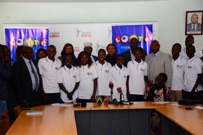 Kenias Team für Tokyo 2020