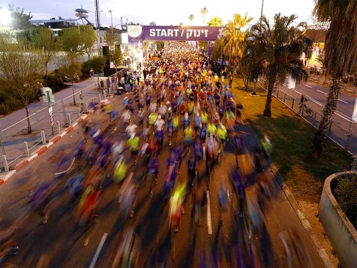 Tel Aviv Marathon | Foto: Abir Sultan/EPA/dpa