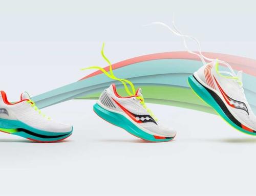 Saucony präsentiert Endorphin Laufschuh mit Carbonsohle