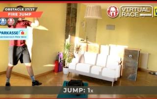 Spartan Virtual Fire Jump