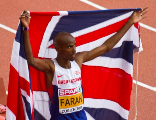 Sir Mo Farah Pacemaker beim London Marathon 2020