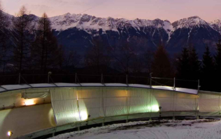 Neuer Bergsprint auf Olympia-Bobbahn Innsbruck-Igls 1